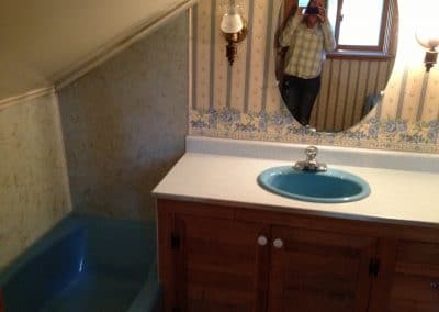 Before: upstairs bathroom