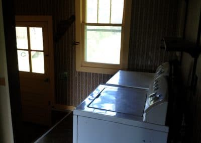 Before: laundry room/back entrance